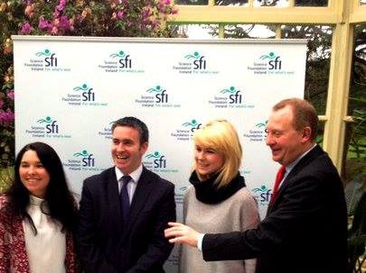 SFI presentaion at Farmleigh House, Dublin