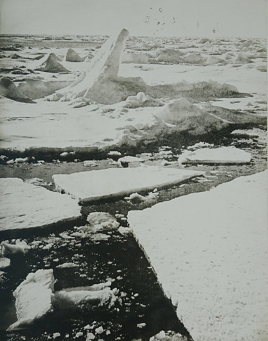 The last of Ice, 2020, photopolymer etch