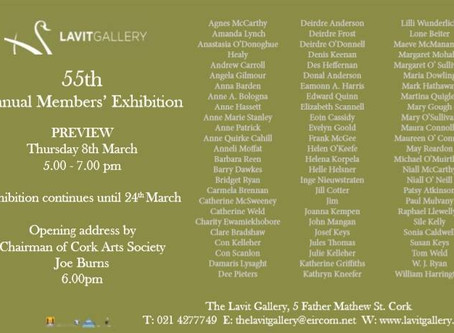 Members Exhibition Opening at the Lavit Gallery 6th March