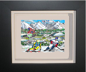 Sochi Olympic Games 3-D Mini Print