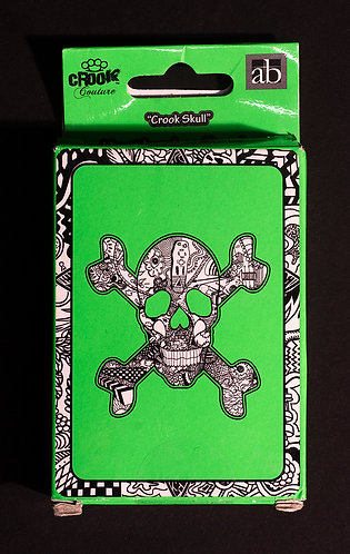 Heather Fazzino Skull Playing Cards