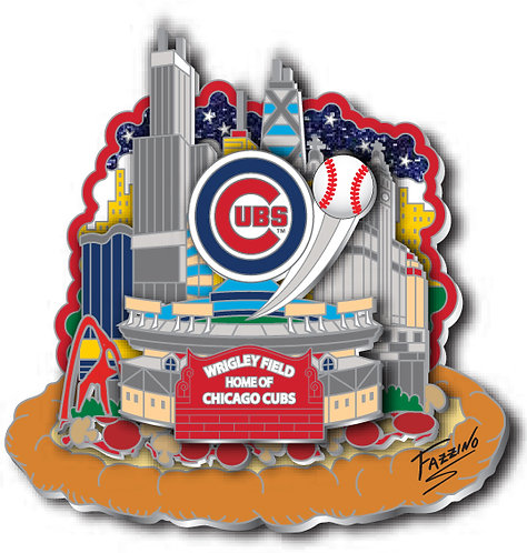 Chicago Cubs Collectors Pin