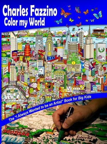 Fazzino Coloring Book