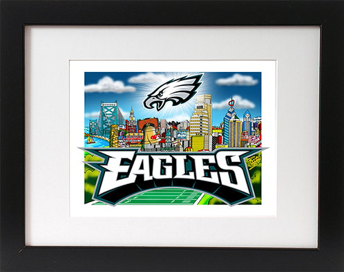 Philadelphia Eagles 3-D Mini Print