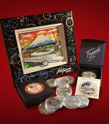 2020 Olympic Games Medal/Mini Package -Very Limited