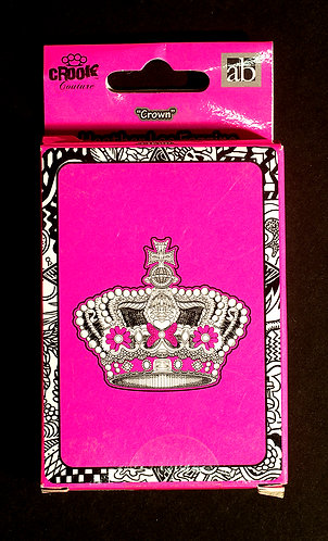 Heather Fazzino Crown Playing Cards