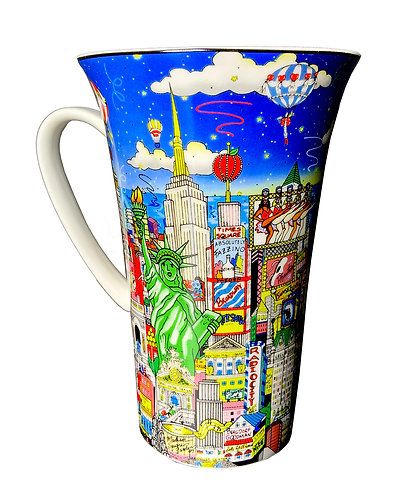 Fazzino Tall Art Mugs