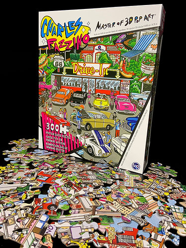Get Your Kicks on Route 66 Art Poster Puzzle