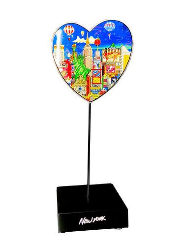 New York Balloon Ride Figurine