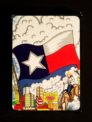 A Taste of Texas Playing Cards