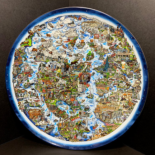 For a Better World Collectors Plate