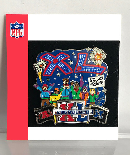 Super Bowl XL Mini Pin