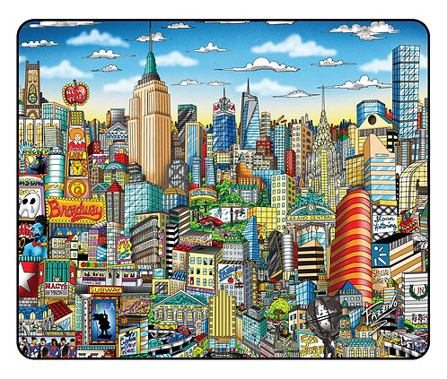 NYC Pop Art Mousepad