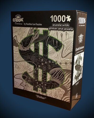 "Heather Fazzino ""Dollar"" Art Puzzle"
