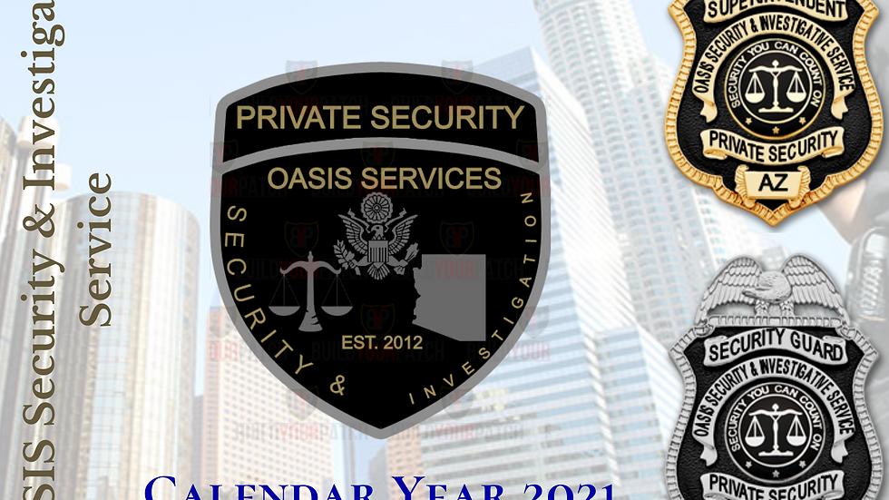 2021 OASIS Calendar