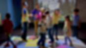 interactive floor projector for kids