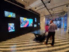 Interactive Digital Wall and Table