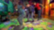interactive projector games