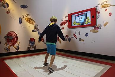interactive floor games