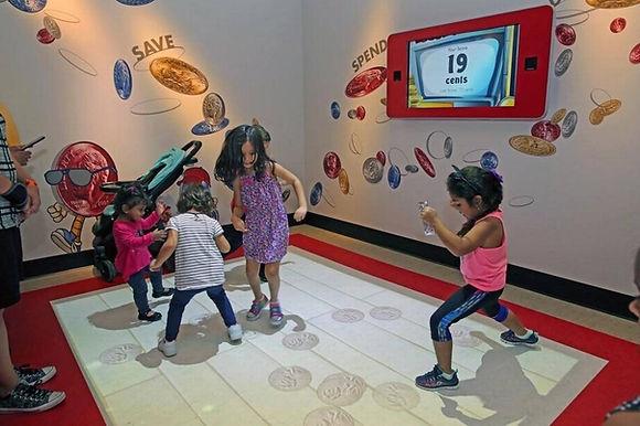 interactive floor projector