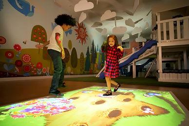sensory floor projector