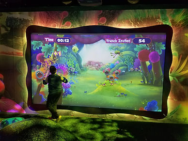 interactive wall projector