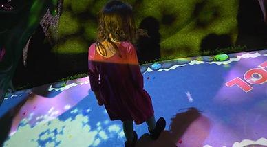 floor projector for kids