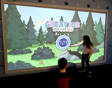 interactive wall game