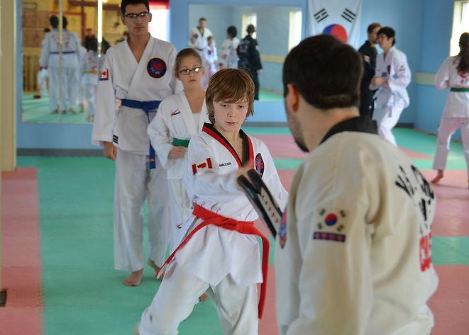 Kicking training