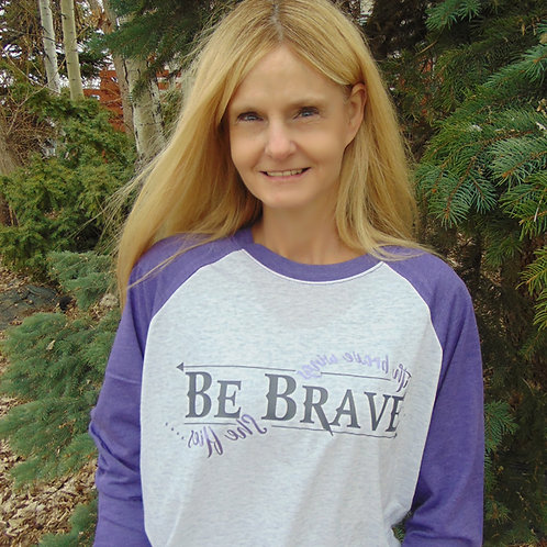 BE BRAVE/ With brave wings she flies