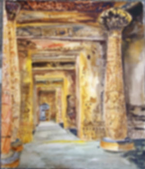 Edfou aquarelle 46x40 cms 2007.JPG