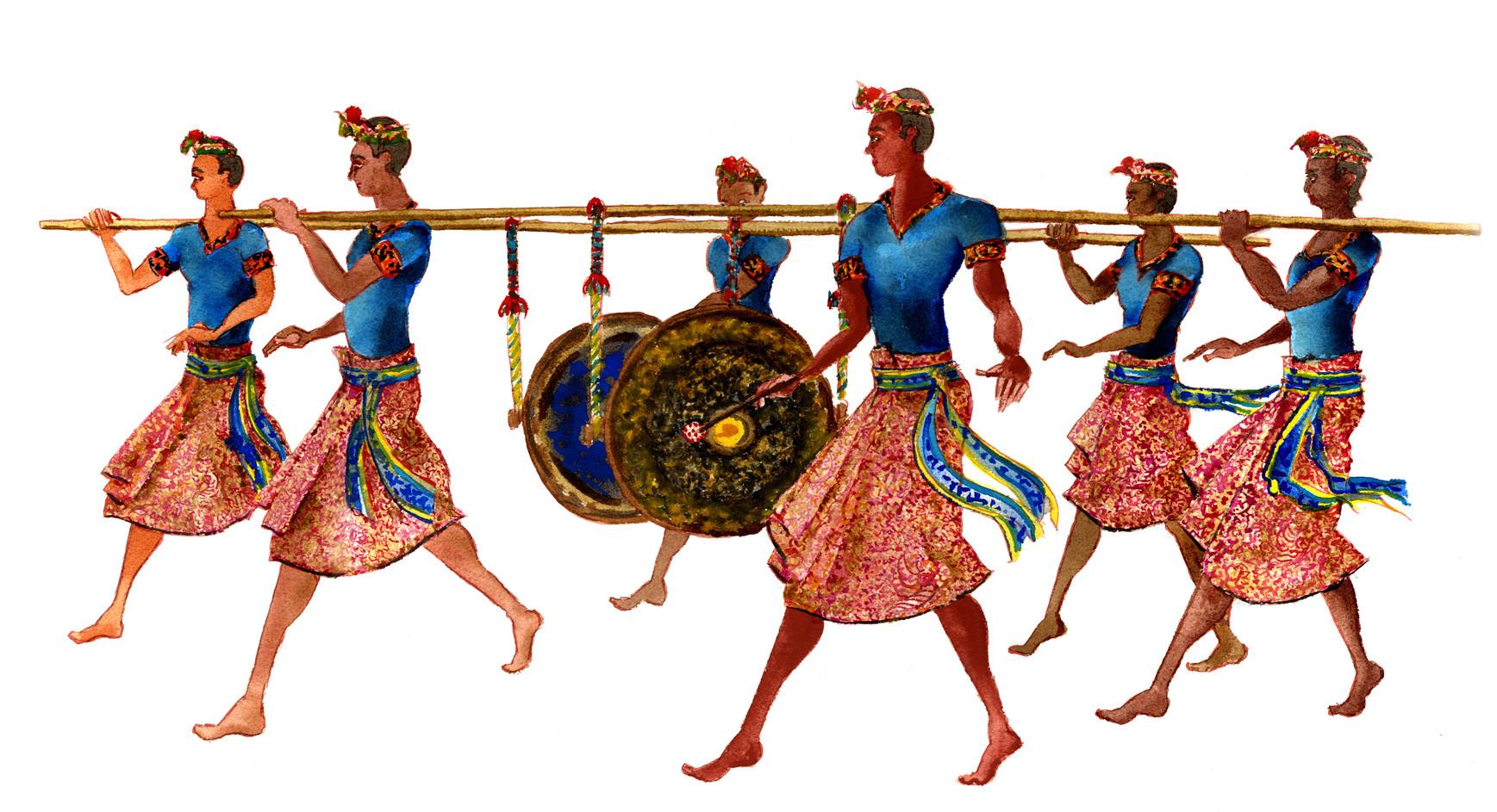 Musiciens Bali