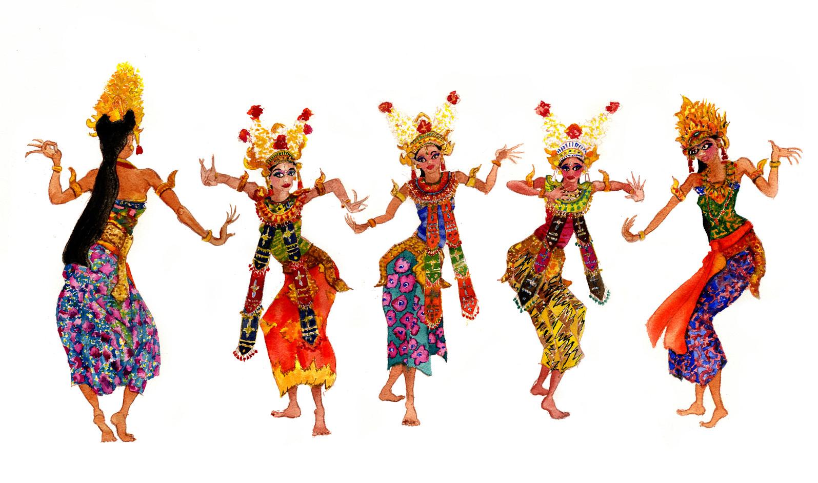 Danseuses Bali