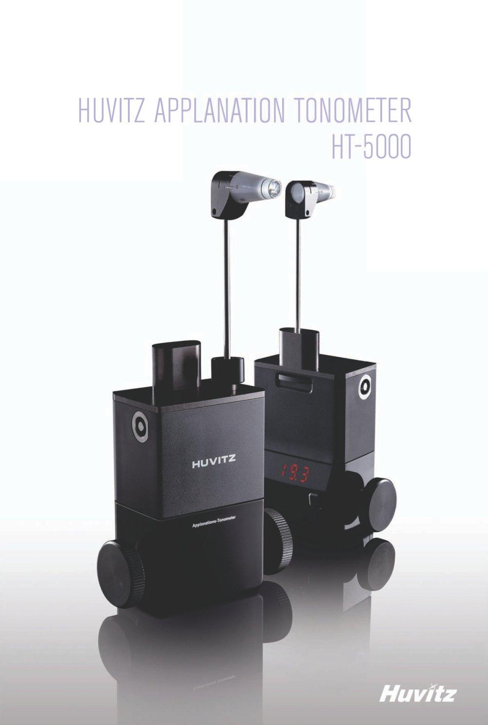 Digital tonometre à aplanation