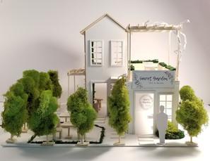 Secret Garden Tea Shop Front