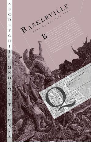 Baskerville Type Type Spec Poster