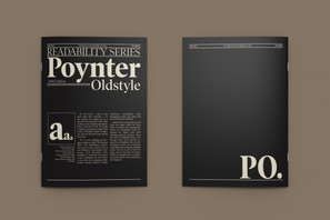 Poynter Oldstyle Type Specimen