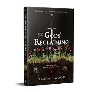 Gods' Reclaiming Book Cover Mockup