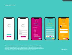 Creatives App Opening Set Up