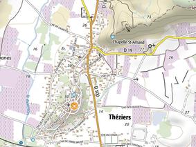 L'Europe aide Théziers (Gard) à se protéger contre les iondations