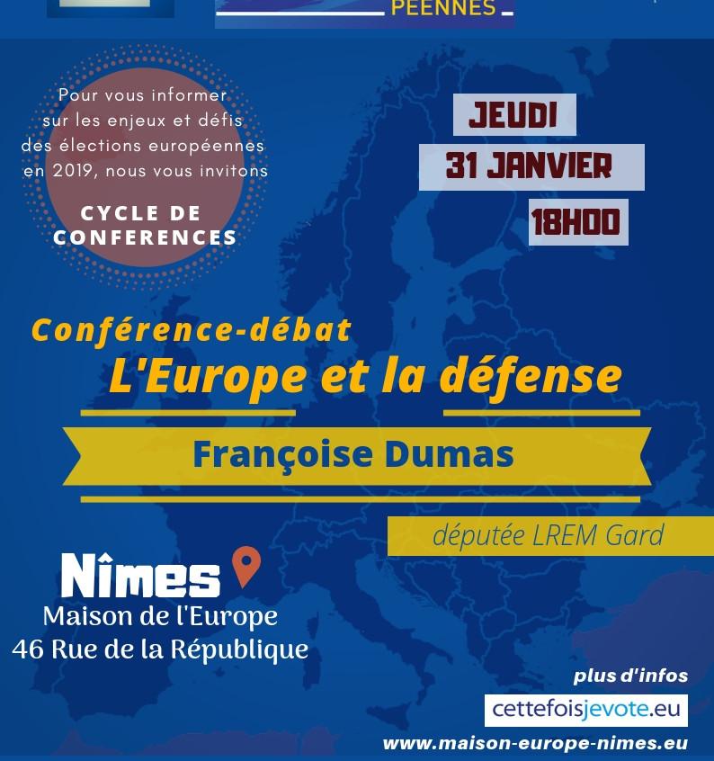 Débat avec Françoise DUMAS