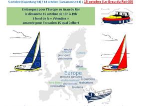 A la découverte de l'Europe au fil de l'eau en Région Occitanie Pyrénées Méditerranée!