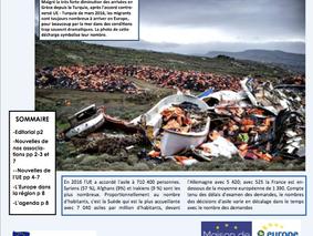 La lettre Europe de Mai est arrivée !