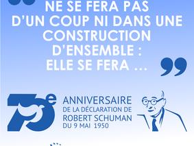 70 ans Plan Schuman - 70 histoires européennes