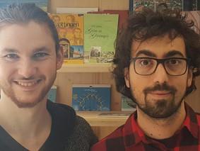 Bienvenue à deux volontaires européens