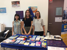 La Journée européenne des langues dans des lycées à Nîmes