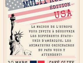 Café Multi Kulti - édition USA