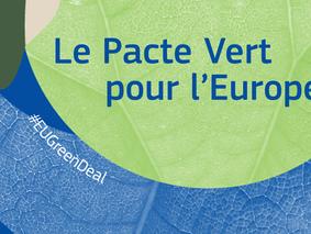 Le Pacte Vert pour l'Europe de la Commission européenne