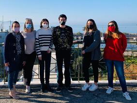 Des jeunes du Vaucluse en stage Erasmus professionnel en Grèce en période de restrictions sanitaires