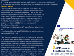 L'Europe et l'énergie, parlons-en ! - jeudi 7 juin 18h30